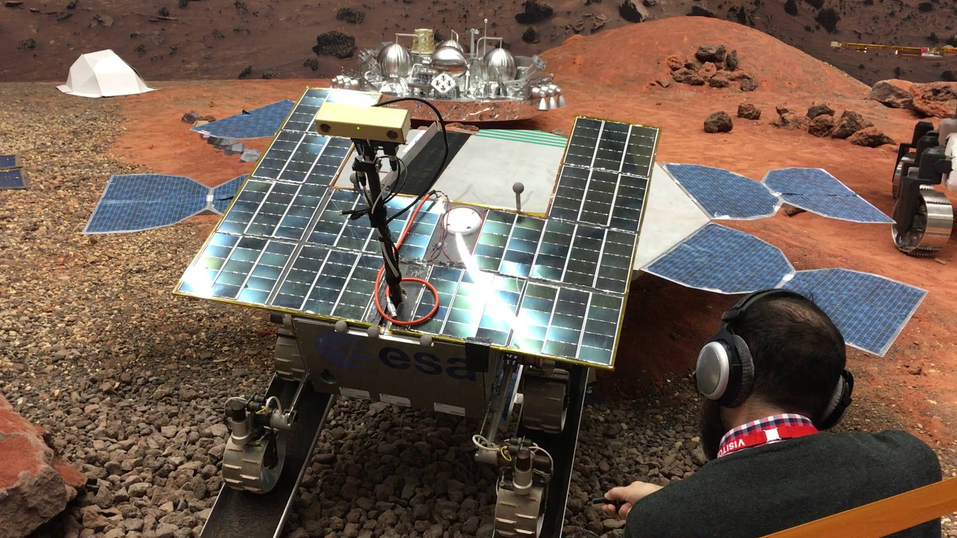 Sounds from the ExoMars rover